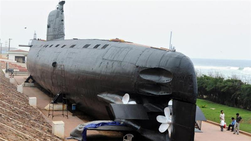 фото подводной лодки в индии
