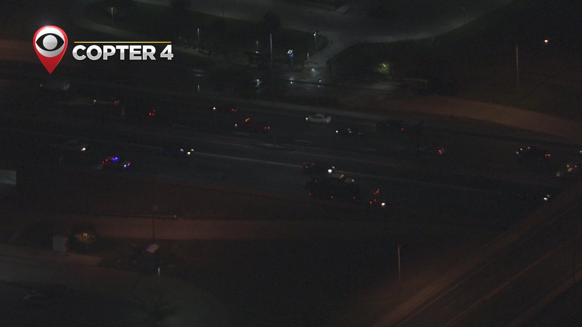 Some trouble blocking off the right side of NB I-25 near 88th. CBS4Mornings cotraffic
