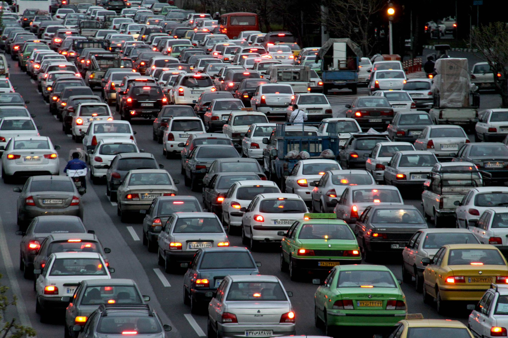 рублевские автомобильные пробки фото оформлении
