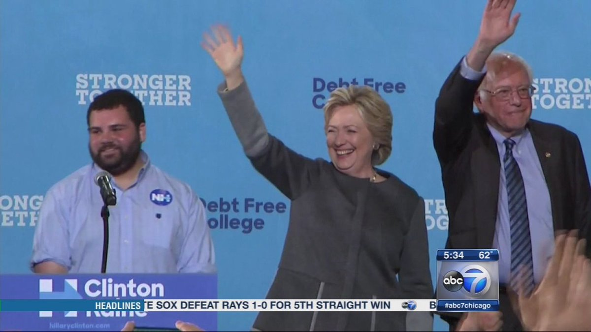 Hillary Clinton to campaign in Chicago Thursday night
