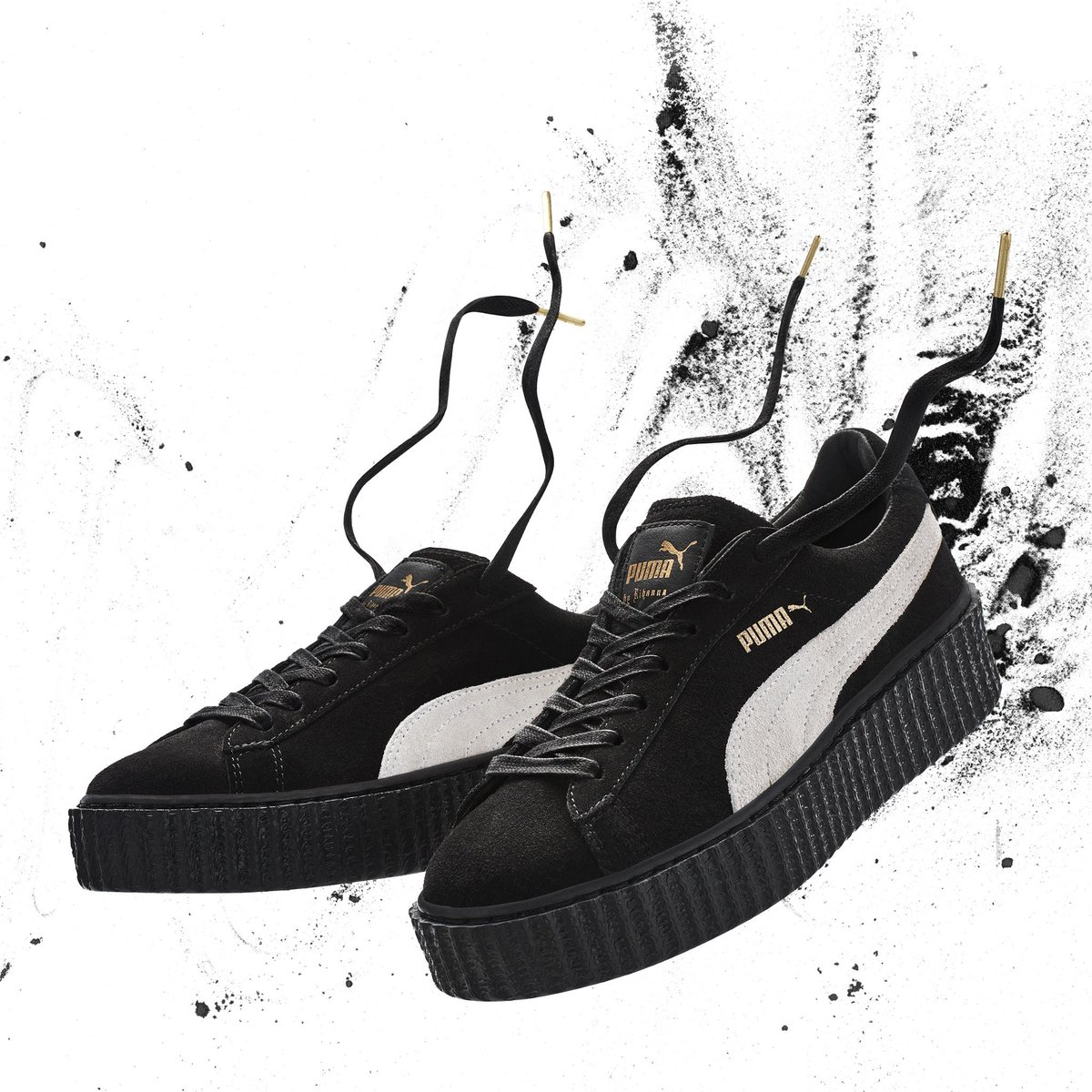 7a49ca4721d rihanna reissues thecreeper in its original colorways get the sneaker from  puma here .