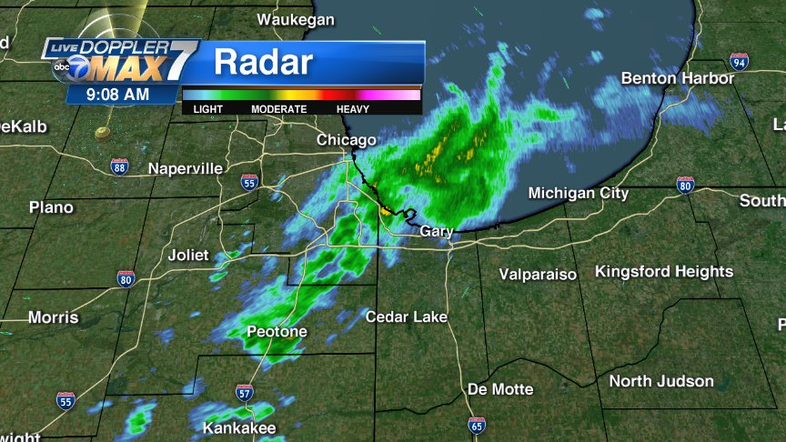 LATEST RADAR: Chicago How are conditions where you are?