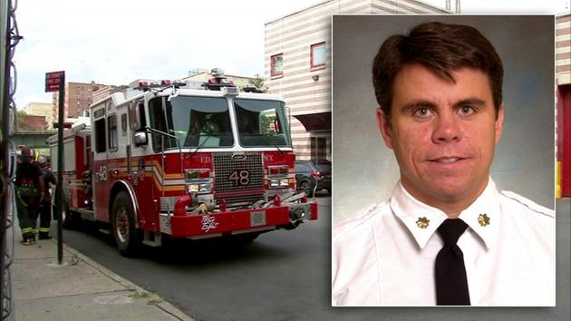 Fallen FDNY battalion chief killed in line of duty posthumously promoted