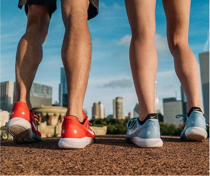 Nike Lunarglide+ 4 Chicago Marathon Edition
