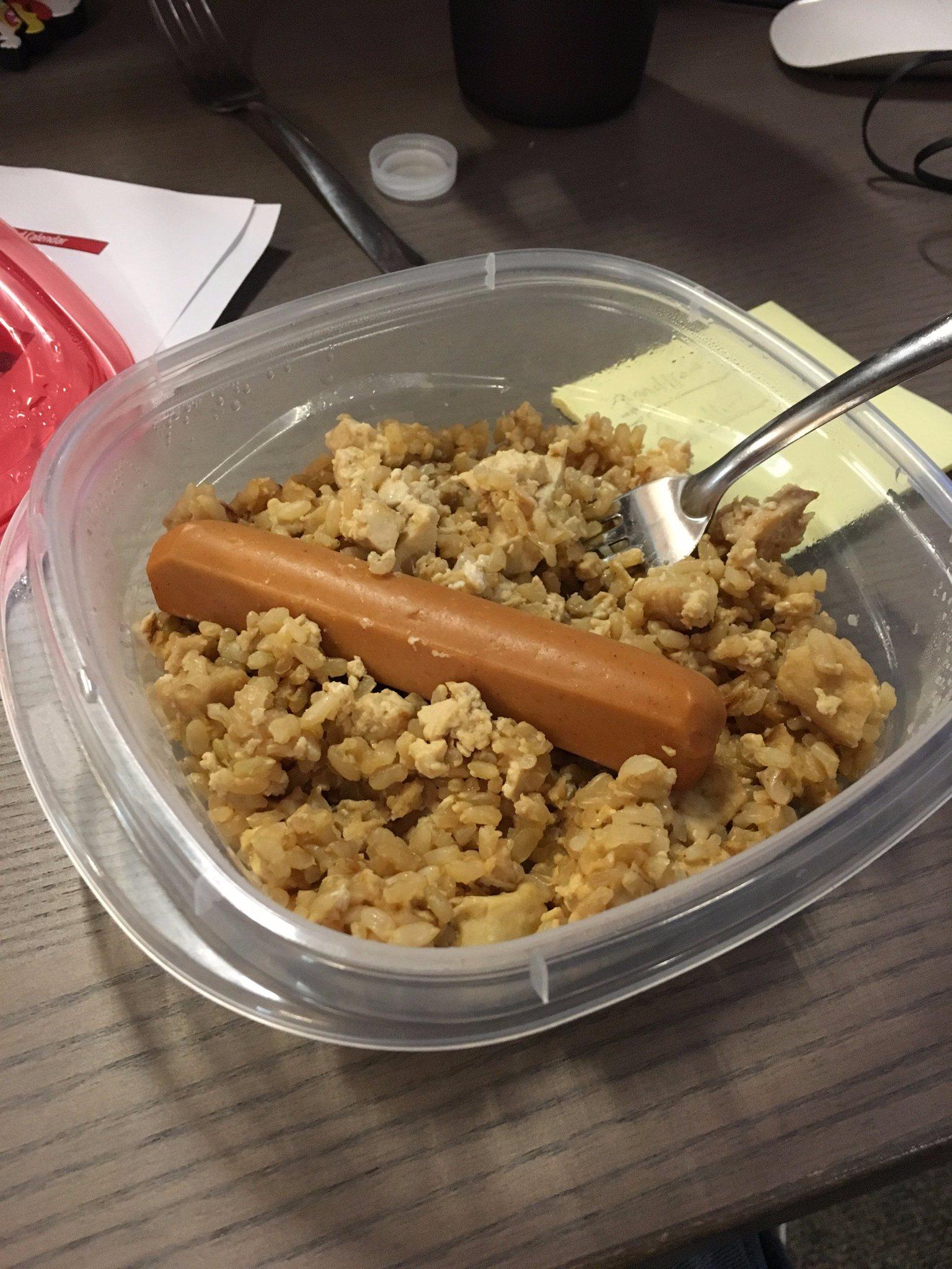 Lunch is served #saddesklunch