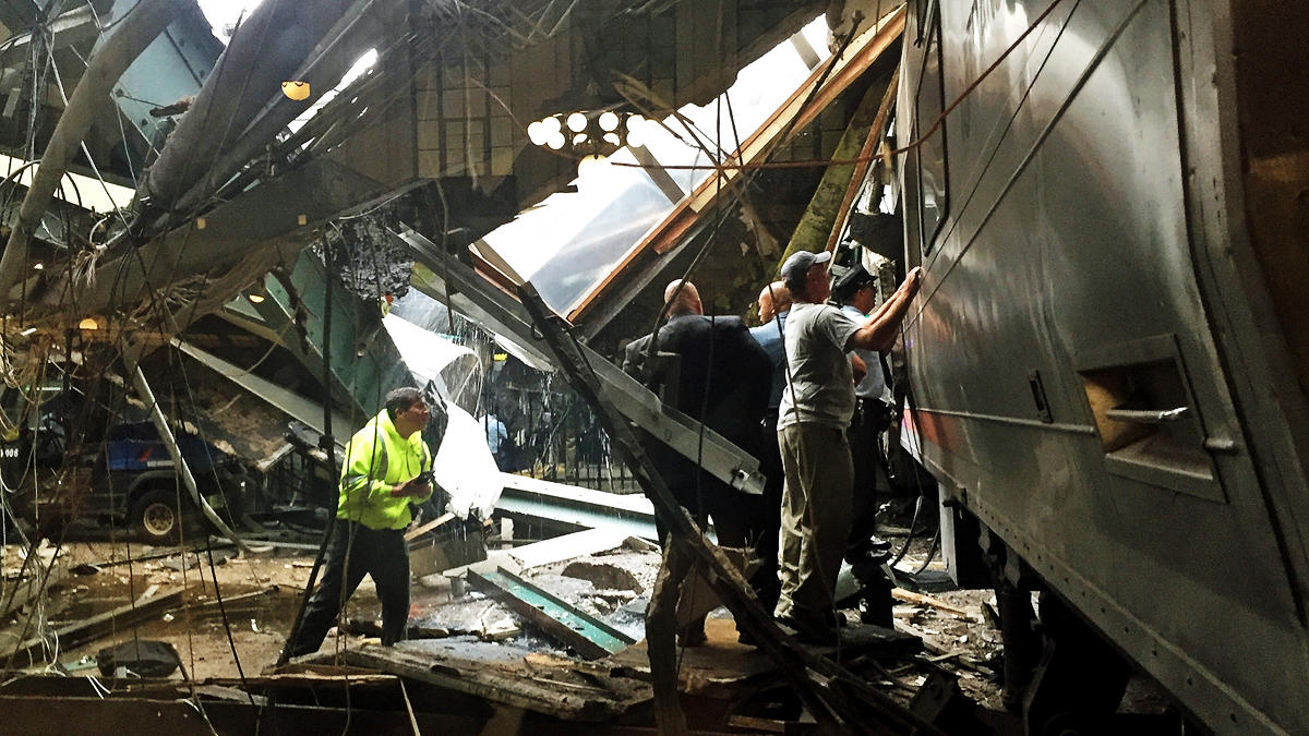 Hospital officials give update on Hoboken train crash