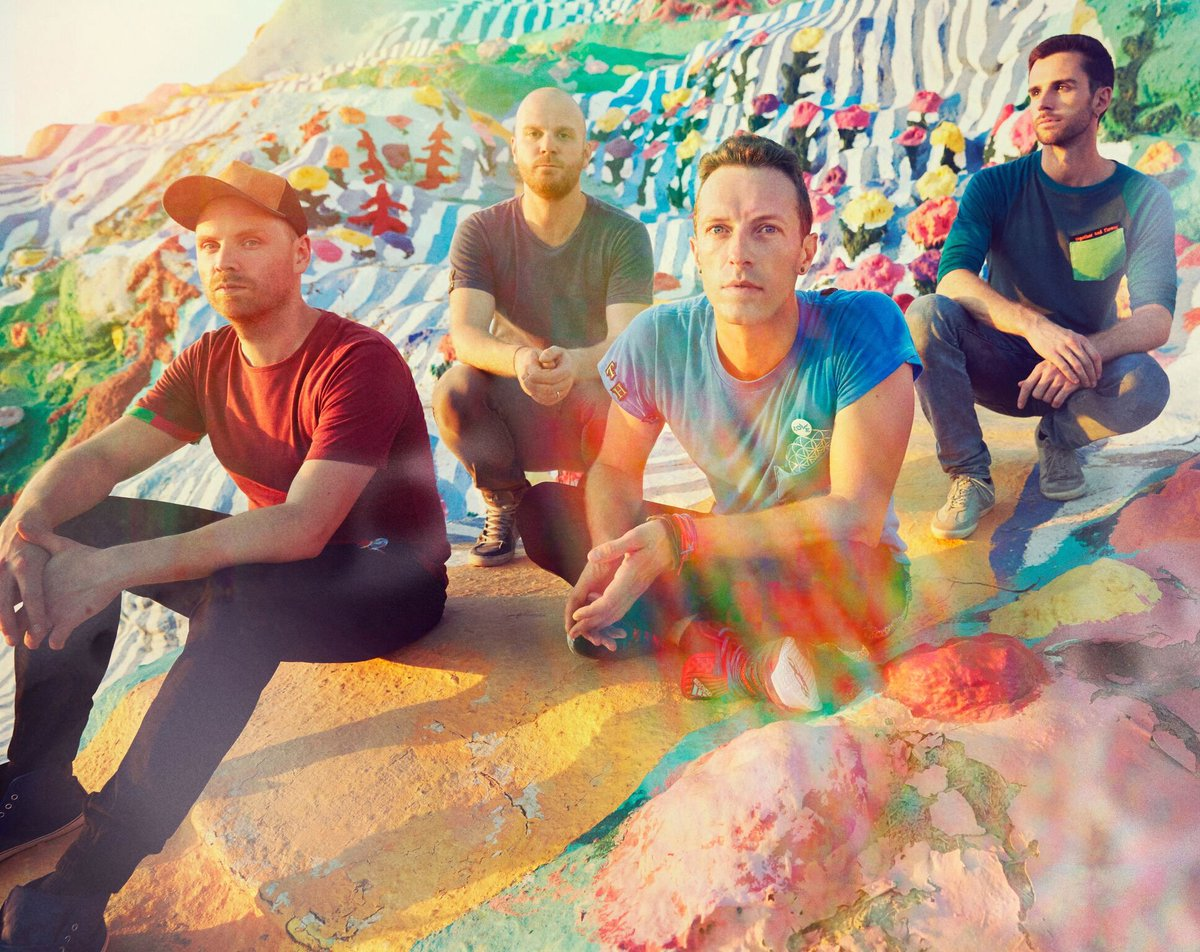 Yeah @coldplay!!!! #HymnForTheWeekend is officially PLATINUM in the US! Congrats guys