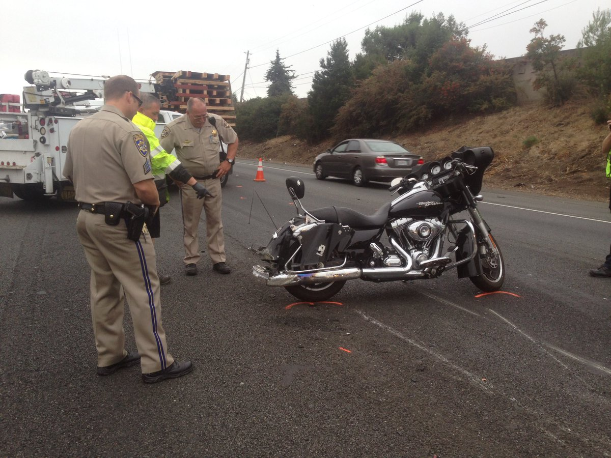 Motorcycle rider dies after colliding with a big rig on WE 80 in Vallejo.kron4news