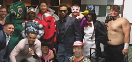 Seattle Mariners rookies dressed to impress after win v. Astros (pic @MCBoomstick23)