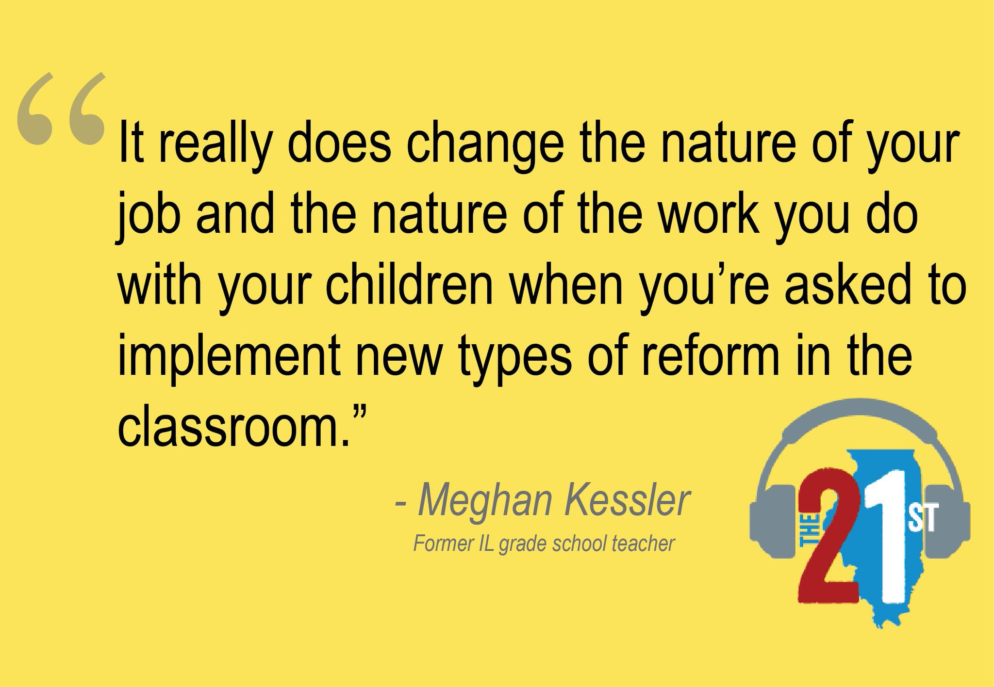 Former #IL teacher & current @edILLINOIS grad student Meghan Kessler on challenges teachers face in #K12 https://t.co/XTZ4oVdJxp