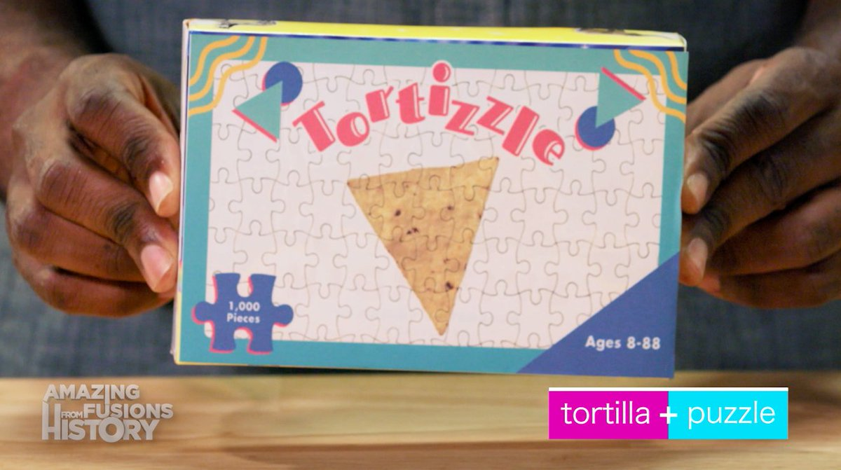 A jigsaw puzzle combined with a tortilla chip combined with a @drinkFUZE #ad https://t.co/s3EDH4vCAb https://t.co/mF83OF9hXj
