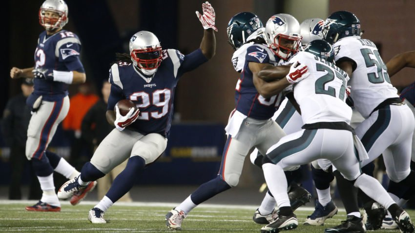 LeGarrette Blount named AFC Offensive Player of the Month