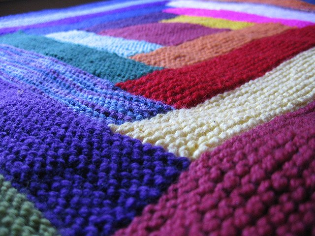 海外発♡編み物♡カラフルニットが可愛いから真似したい♪