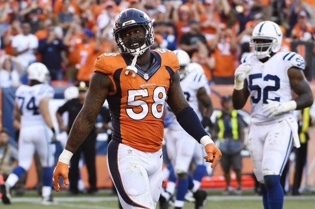 Broncos' Von Miller named AFC defensive player of the month by @NickiJhabvala