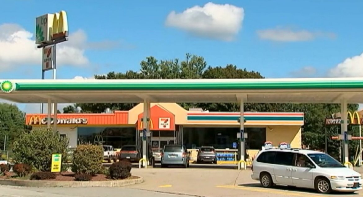 Woman in her 20's dumps newborn baby in gas station trash can >>