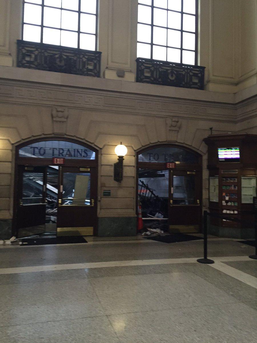 Hoboken. Everything looks ok until you actually peer thru those doors.