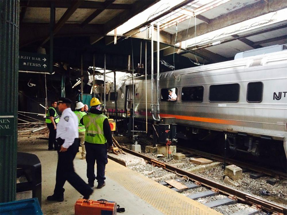 New photos show scene inside Hoboken station where NJ Transit train crash happened
