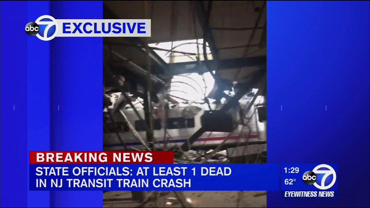 Eyewitness News update on the NJTransit crash in Hoboken
