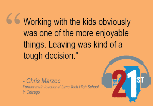 Former @ChiPubSchools teacher says it wasn't an easy decision, but budget cuts, growing class size made his job really hard: #K12 #education https://t.co/j8pXNEpAee