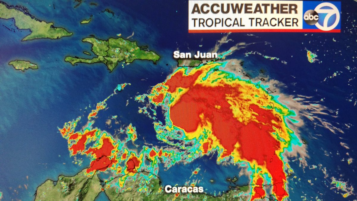 Matthew strengthens into a hurricane: @ABC7NY Matthew