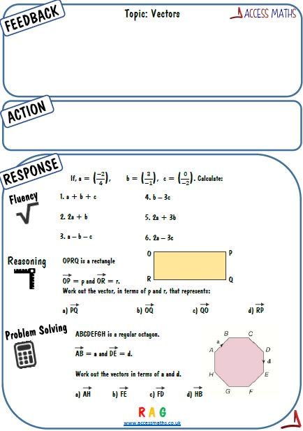 Access Maths On Twitter New 9 1 Feedback Sheets Uploaded