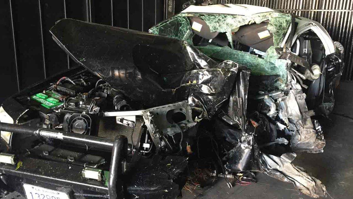 Suspect stole South Pasadena PD cruiser before fatally crashing in DTLA