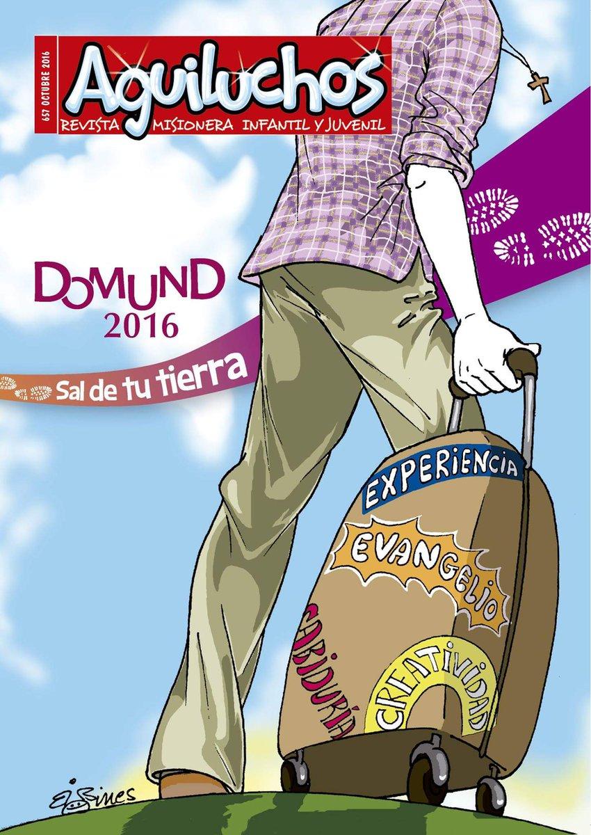 Resultado de imagen de revista aguiluchos domund 2016