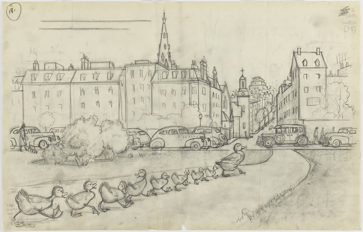 A 'Make Way for Ducklings' exhibit is coming to the MFA