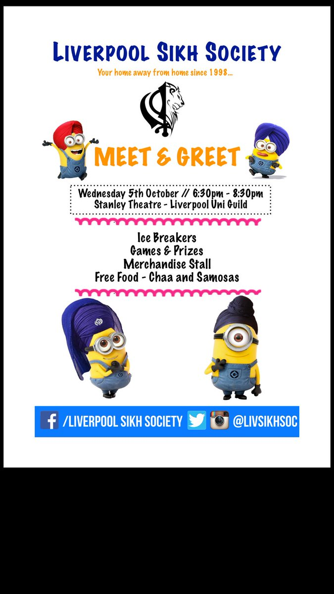 Liverpool sikh soc on twitter come down to our meet and greet liverpool sikh soc on twitter come down to our meet and greet event for free samoseh and cha weve got some great icebreaker activities lined up m4hsunfo