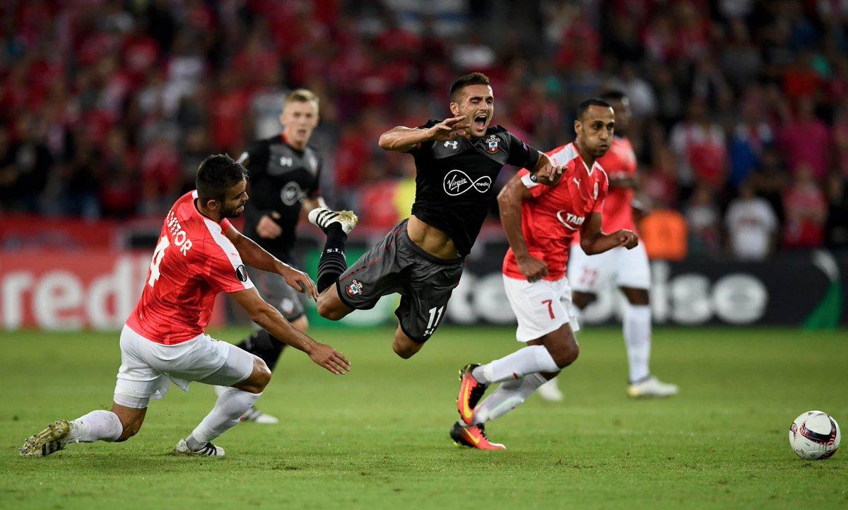 Video: Hapoel Be'er Sheva vs Southampton