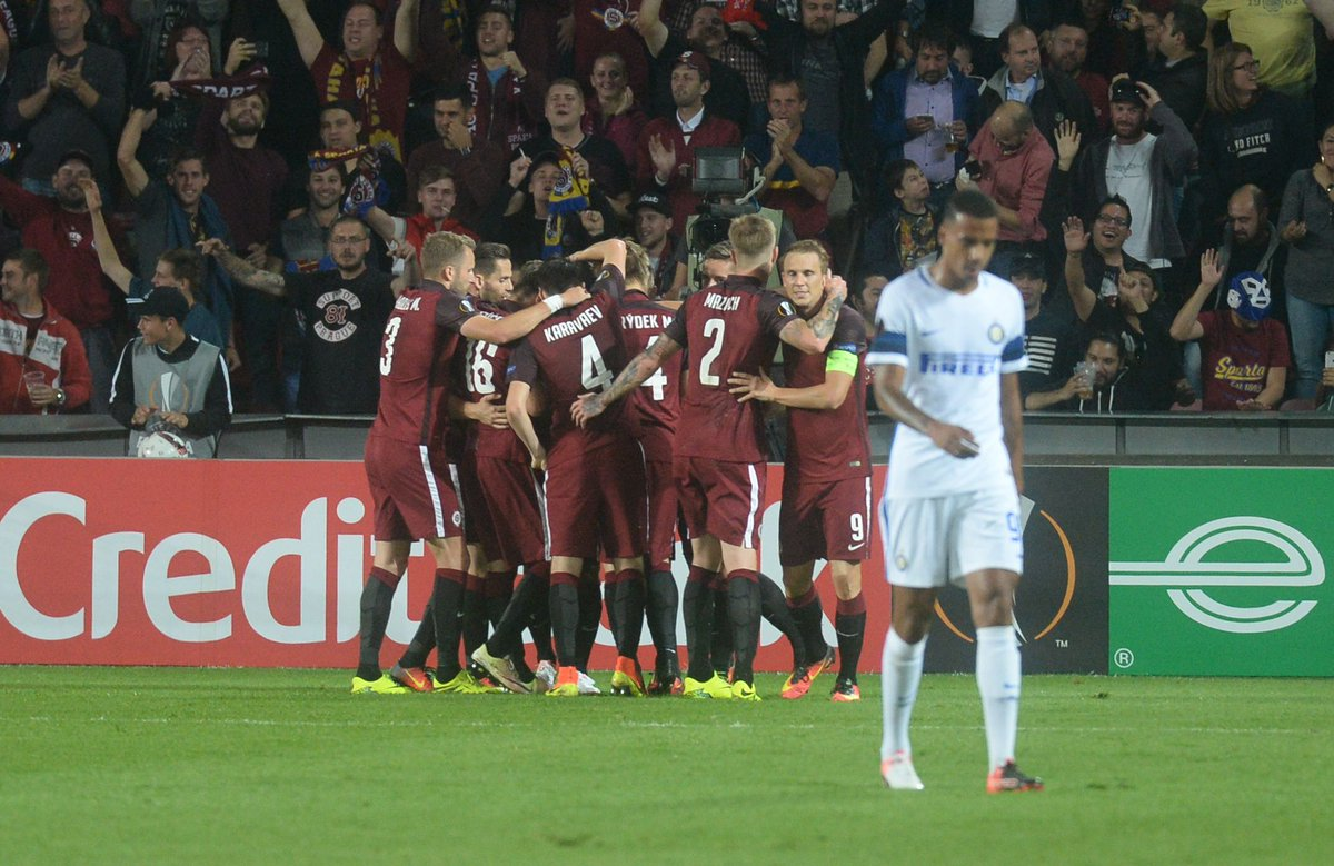 Risultati Europa League: Sparta Praga-INTER 3-1 Tabellino Gol Highlights.