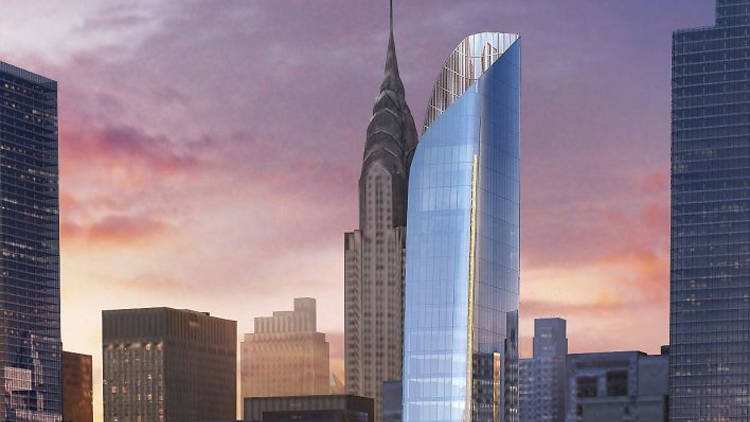 This cool new building is set to rise near the U.N.