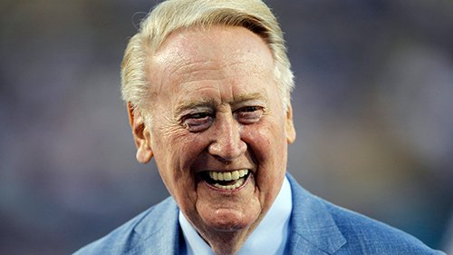 Congressional resolution introduced to honor @Dodgers voice Vin Scully