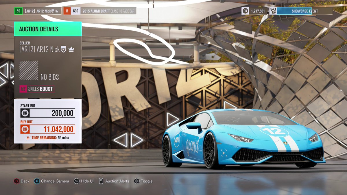 Ar Nick Andrew On Twitter New Forza Horizon  Auction Is Up Lamborghini Huracan Horizon Edition Rwd Drift Build Ar Paint Via Evanmulcahy