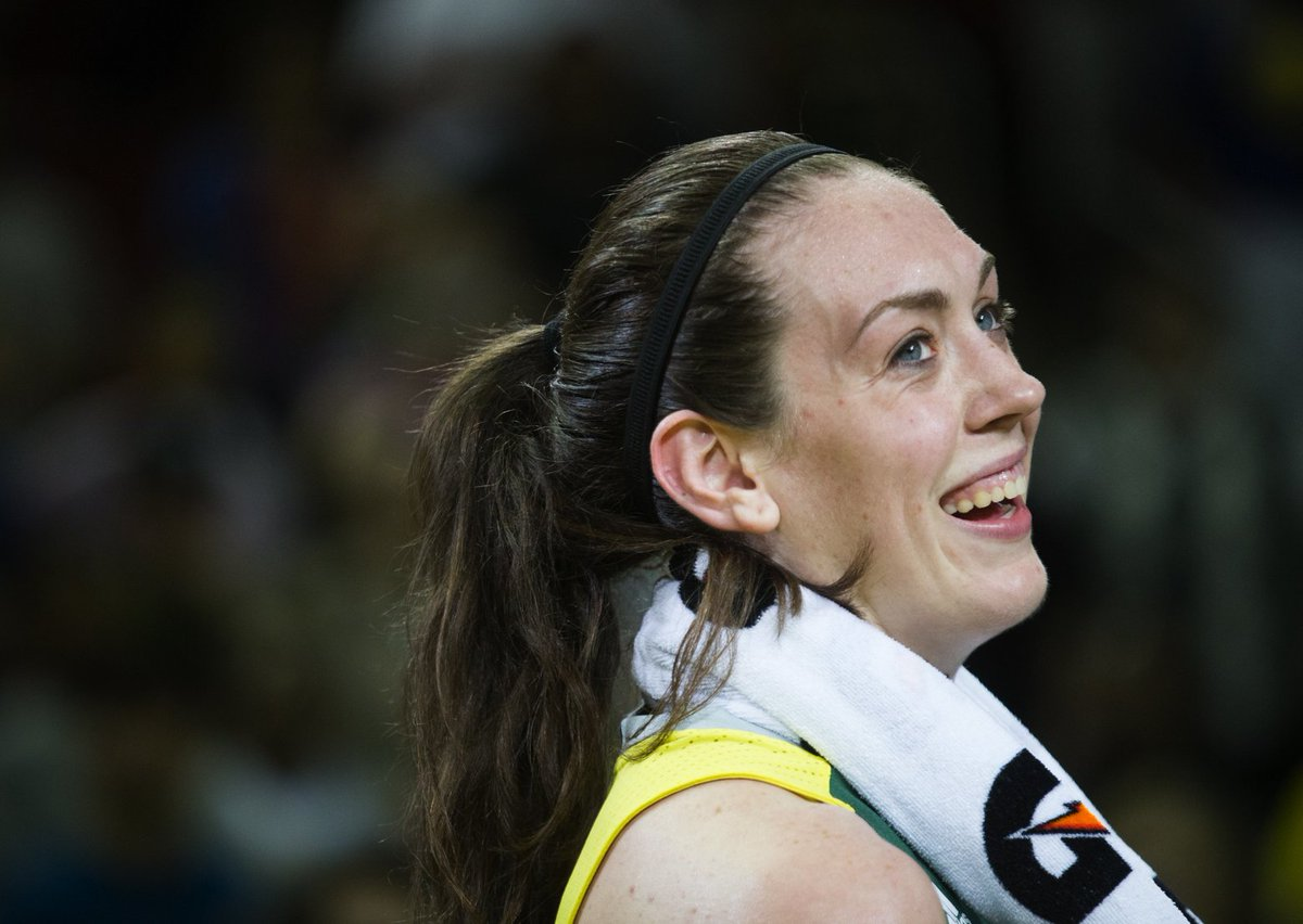 Storm's Breanna Stewart is WNBA Rookie of the Year in near unanimous vote.