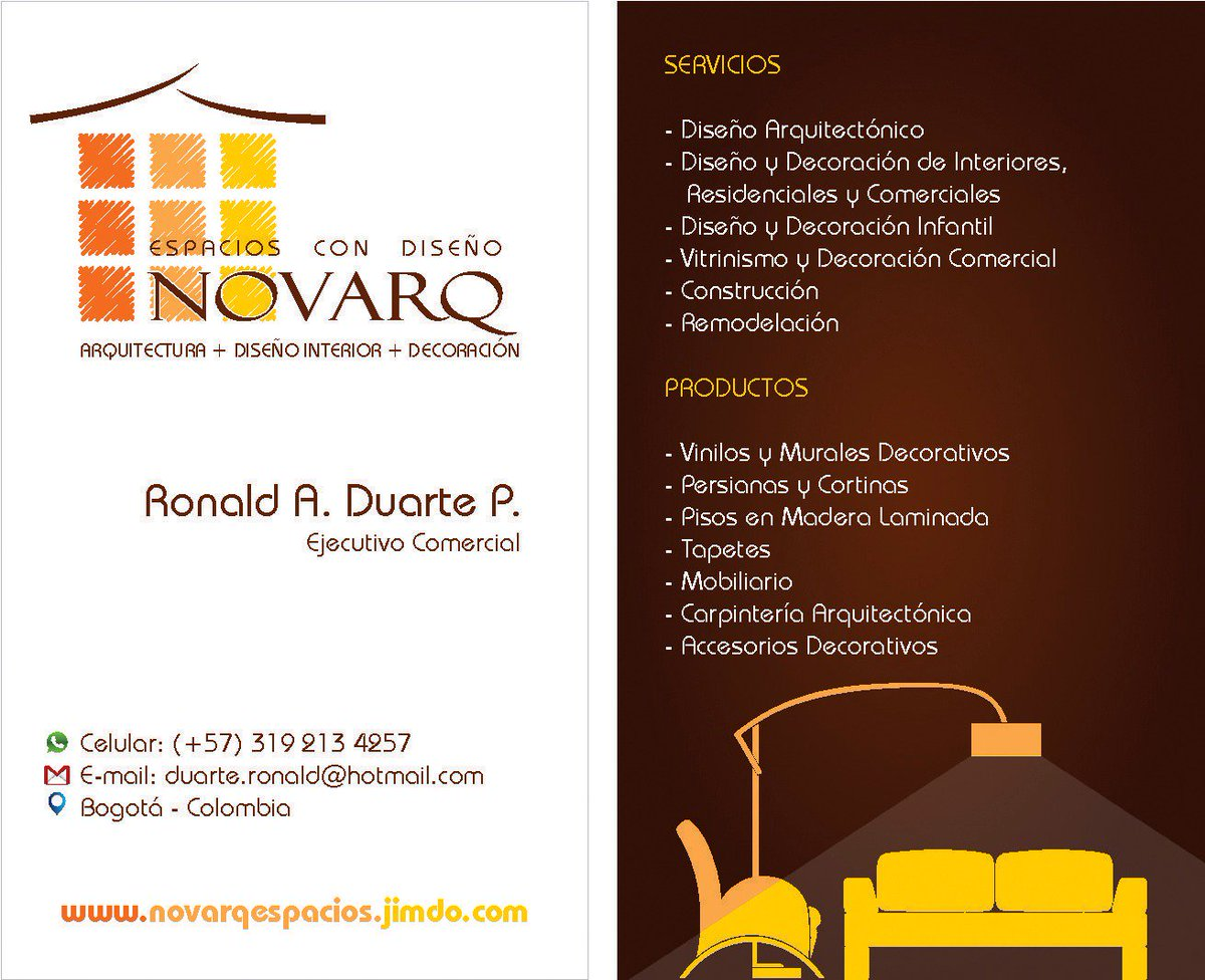 Ronald Duarte Rokaf2 Twitter # Duartee Muebles