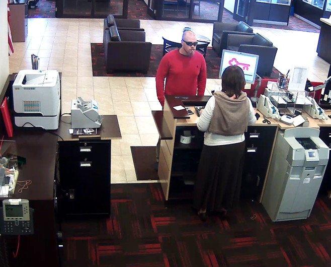 of Jefferson County bank robber released; investigators seek public's help