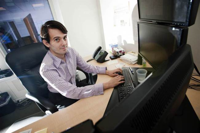 Woman pays $50K to punch Martin Shkreli in the face.