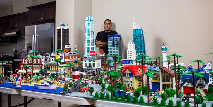 This LEGO model of L.A. is the coolest thing we've seen all week.