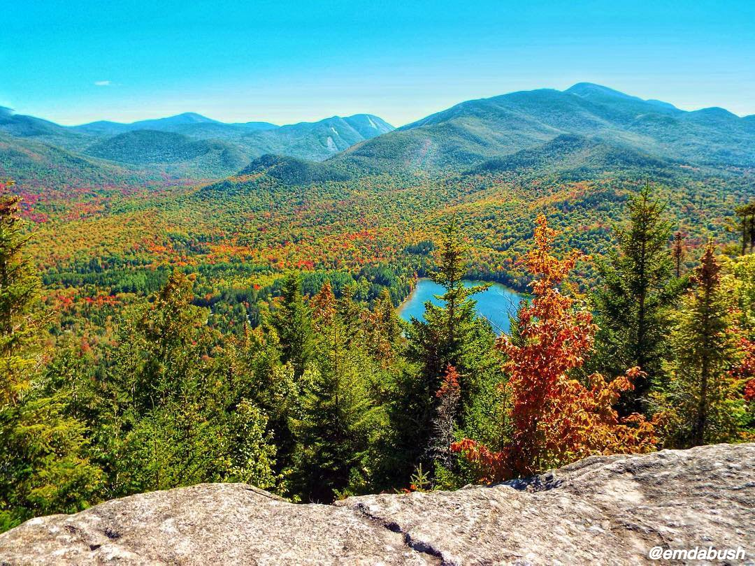 There's nothing better than watching fall slowly take over the Adirondacks. NYLovesFall