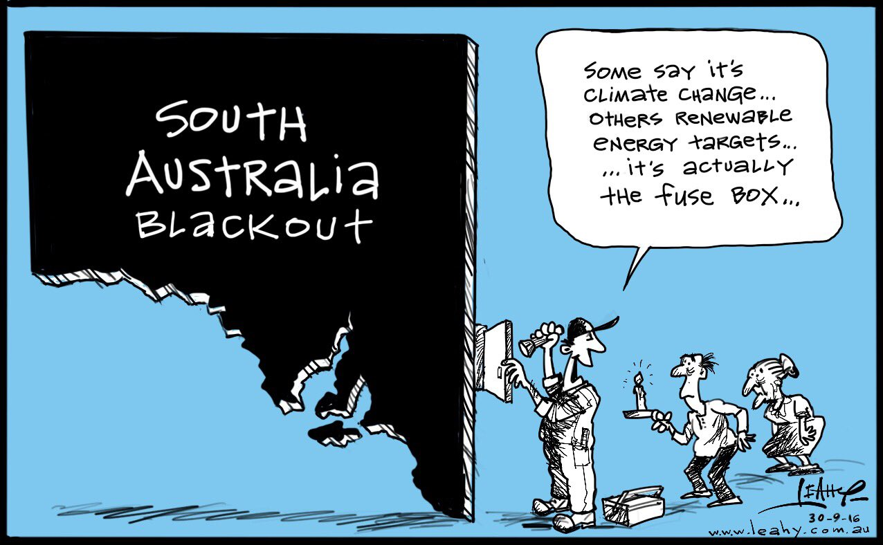 Leahy Cartoons On Twitter South Australia Blackout Sastorms Fuse Box Cartoon Skynewsaust Abcnews24 Breakfastnews Theprojecttv Sunriseon7