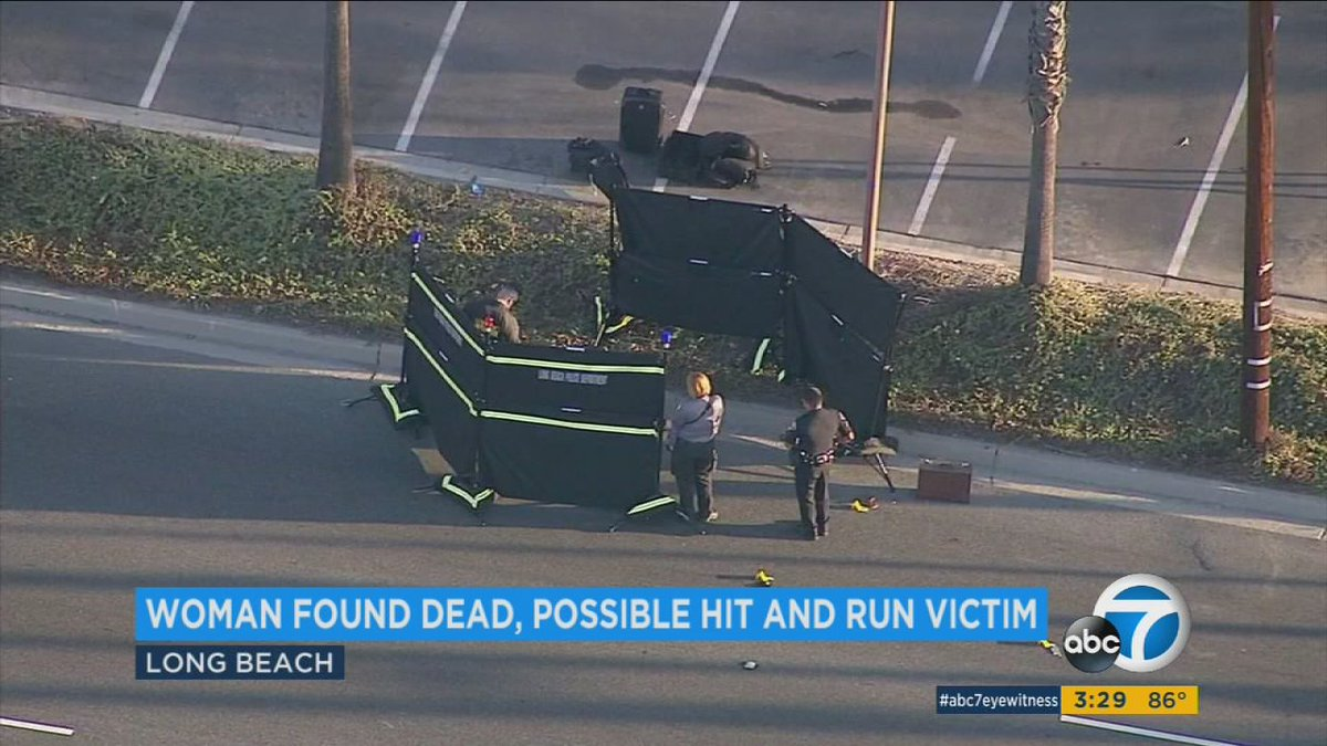 Woman's body found in Long Beach; police say likely victim of hit-and-run