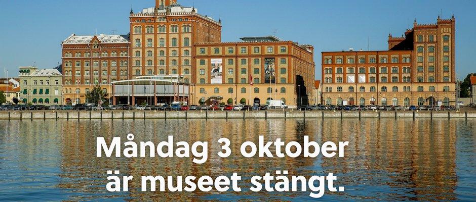 På måndag 3 oktober är museet stängt.#kalmarlänsmuseum https://t.co/AEpJ5XyD8y