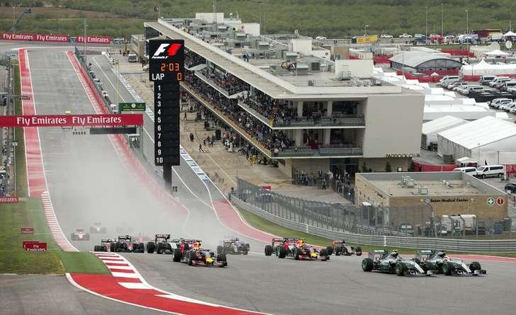 Entertainment revs up U.S. Grand Prix weekend at COTA