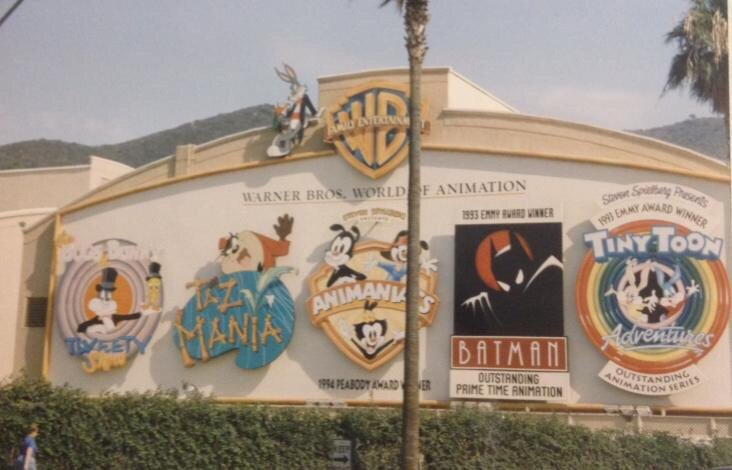 TBT: Warner Brothers Studios 20 years ago. What a fantastic place to work. #blessed #Animaniacs #WarnerBros. https://t.co/CLquRXb1KI