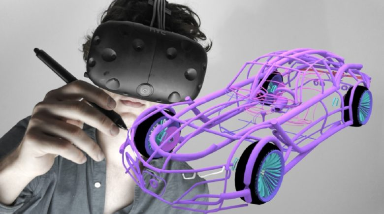 Gravity Sketch lets you create 3D models in virtual reality