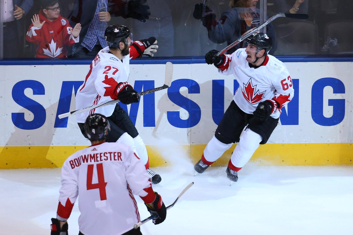 Brad Marchand scores winner to give Canada World Cup title