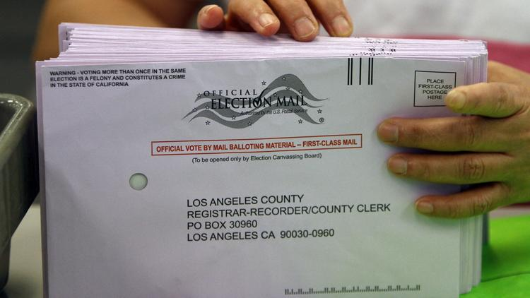 More Californians will vote by mail and fewer at a polling place under a new law