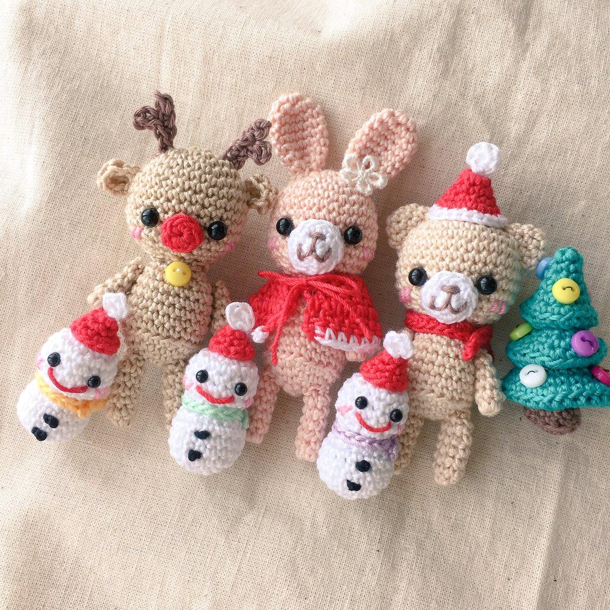 あみぐるみでほっこりクリスマス♡雪だるまやリースを作っちゃお♪