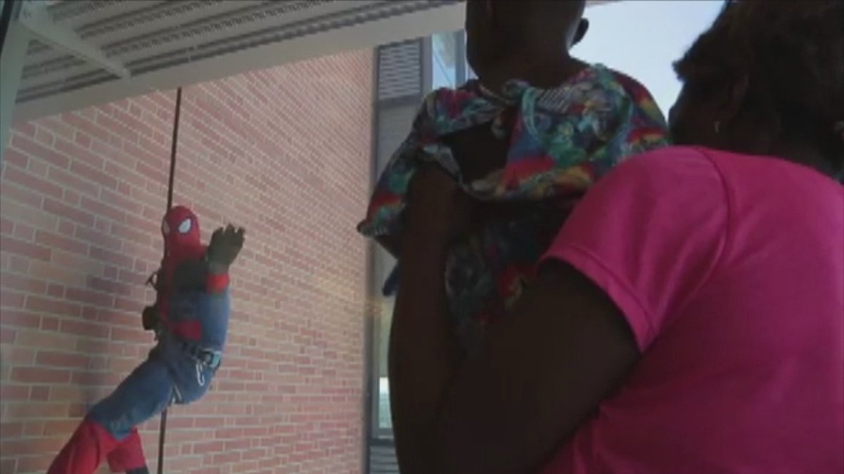 Superheroes Bring Smiles To Young Patients